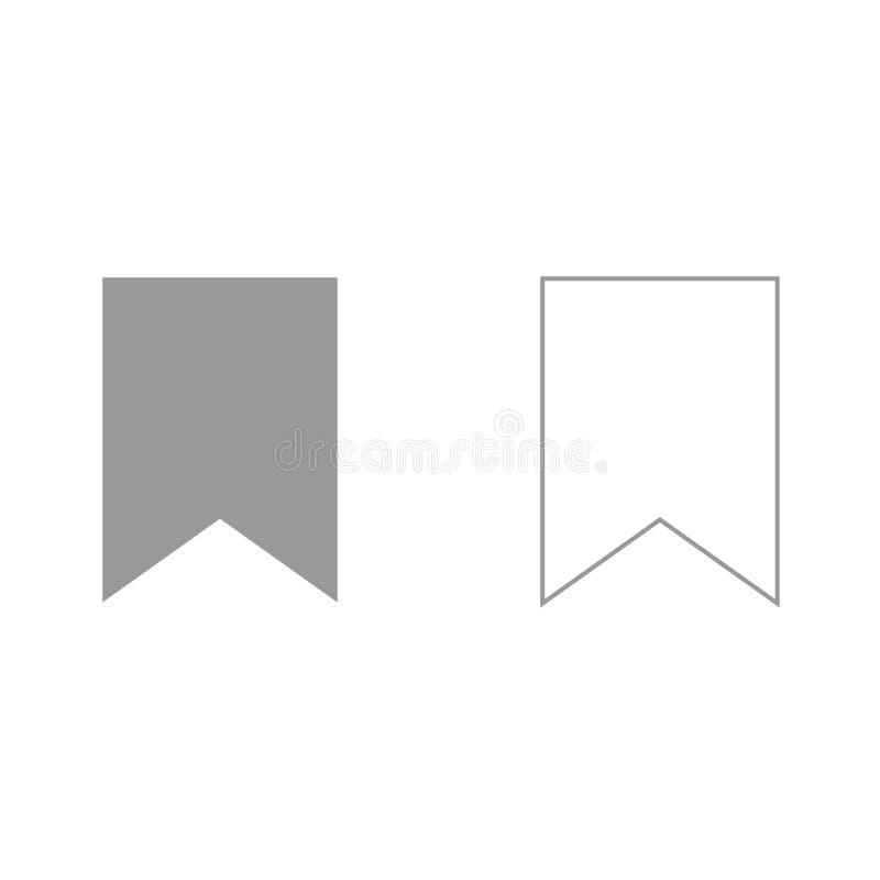 De referentie het is zwart pictogram vector illustratie