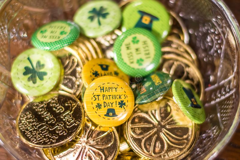 De Regeling van de de Dagvakantie van heilige Patricks stock afbeelding
