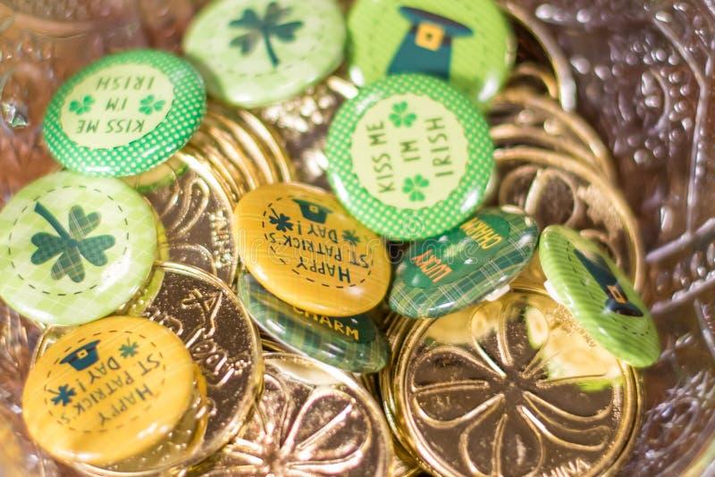 De Regeling van de de Dagvakantie van heilige Patricks royalty-vrije stock foto's