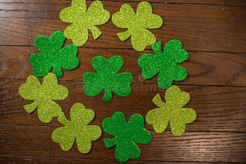 De Regeling van de de Dagvakantie van heilige Patricks stock foto