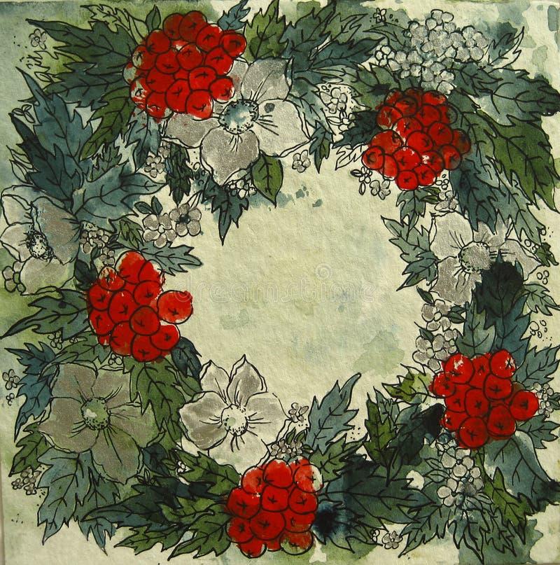 De Regeling van Kerstmis vector illustratie