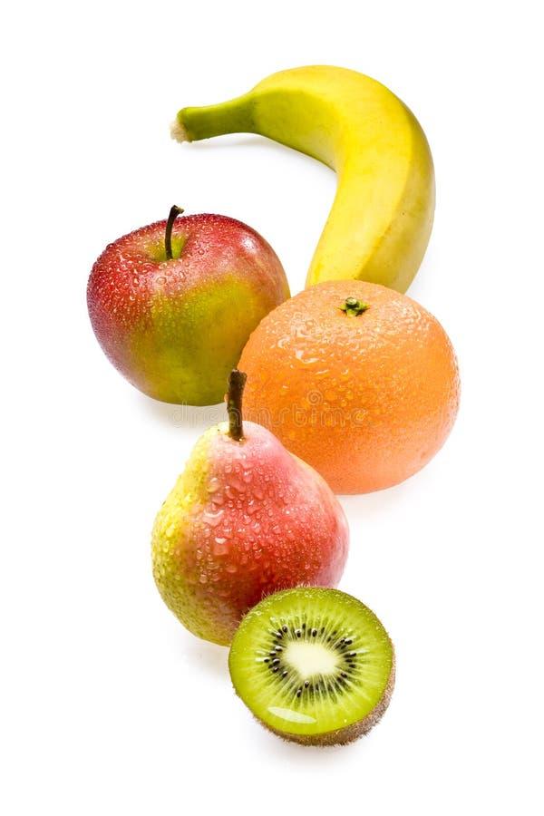 De regeling van vruchten stock afbeeldingen