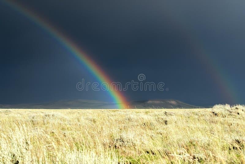 De Regen blijft hoofdzakelijk op Hoge Plians stock fotografie