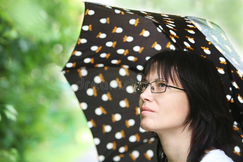 De regen van de zomer royalty-vrije stock foto's