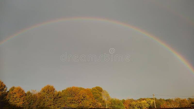 De regenbogen zijn een belofte royalty-vrije stock foto's