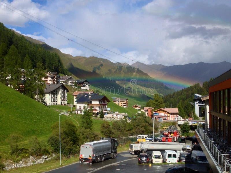 De regenboog stock afbeelding