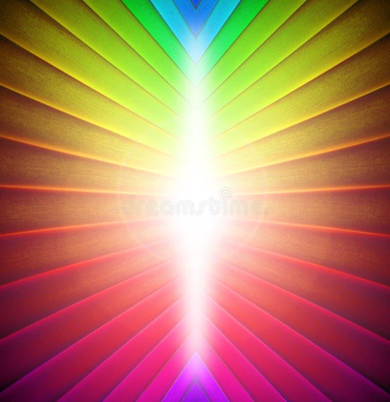 De regenboog kleurt achtergrond vector illustratie