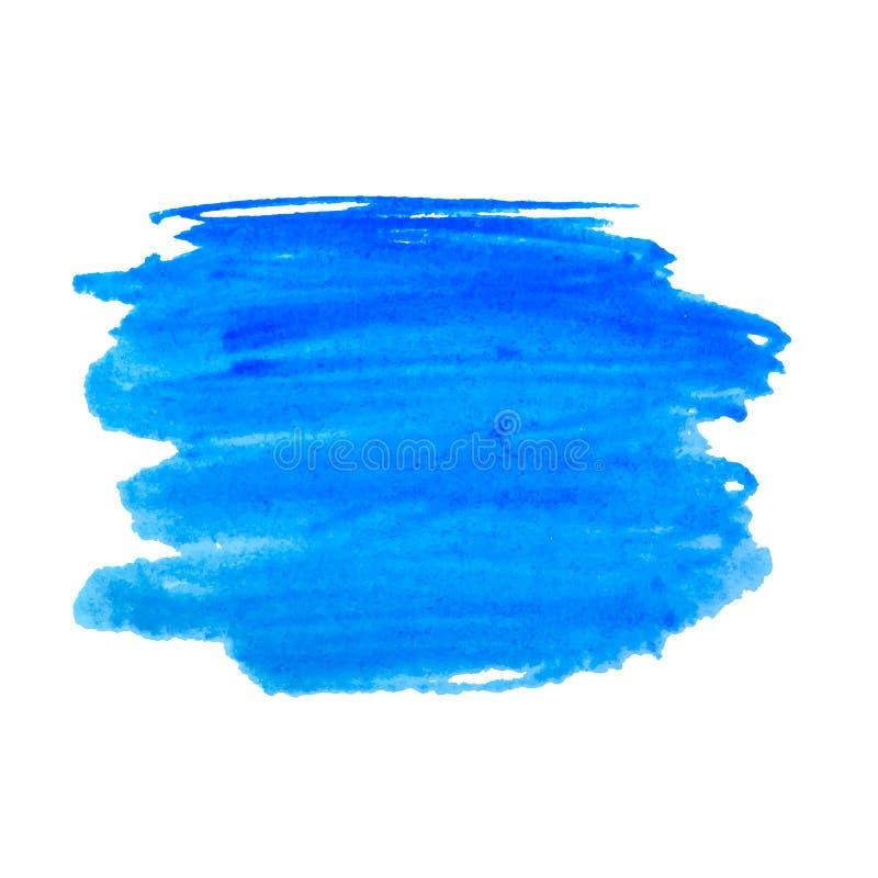 De regenboog kleurt de vlekken vectorachtergrond van de waterverfverf royalty-vrije illustratie