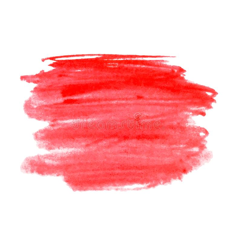 De regenboog kleurt de vlekken vectorachtergrond van de waterverfverf stock illustratie