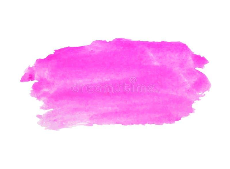 De regenboog kleurt de vlekken vectorachtergrond van de waterverfverf vector illustratie