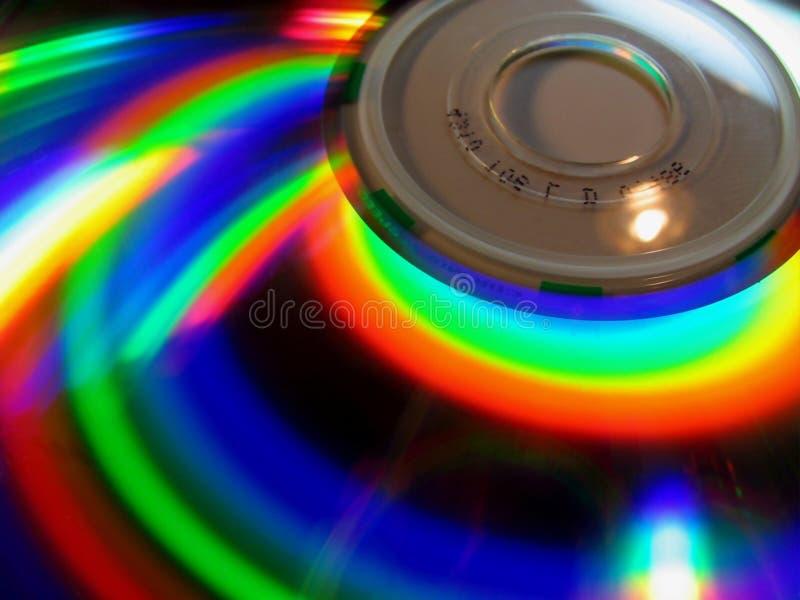 De regenboog van de computer stock foto