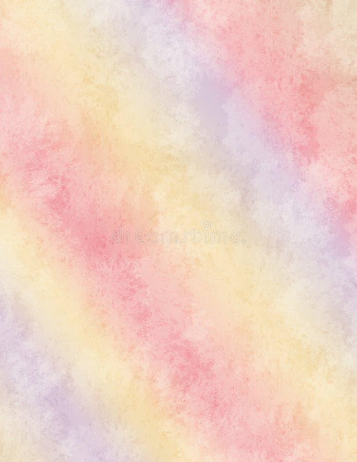 De regenboogachtergrond van de pastelkleur vector illustratie