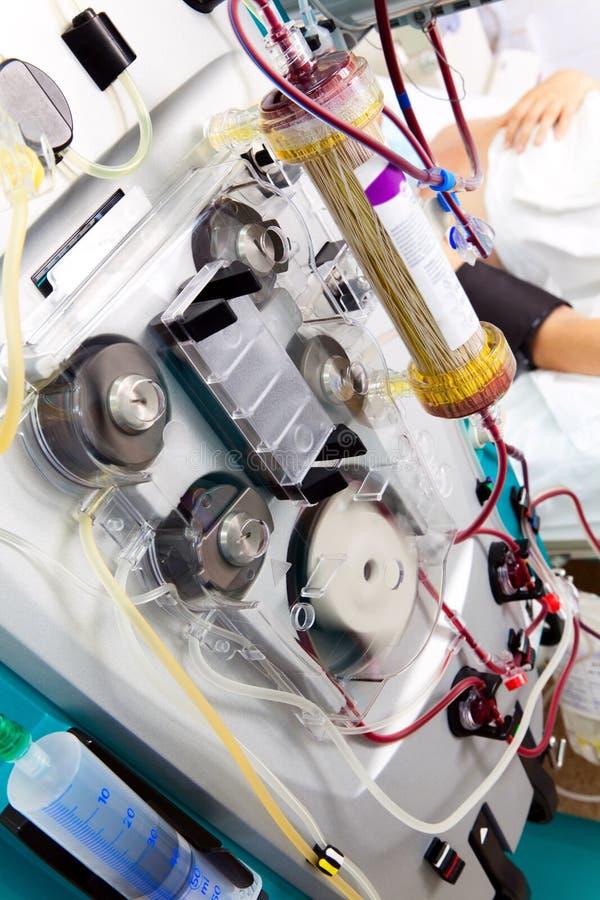 De reinigings medische procedure van het bloed royalty-vrije stock foto's