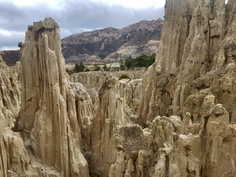 De reis van Bolivië stock foto's