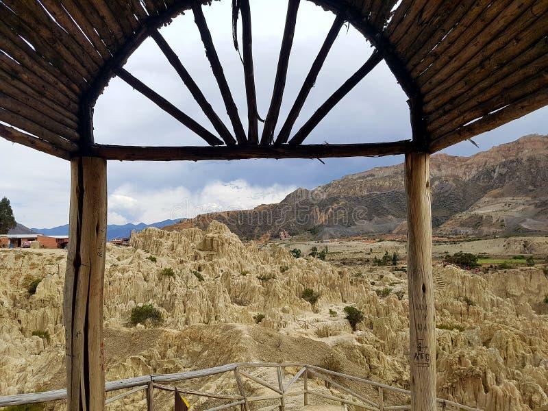 De reis van Bolivië royalty-vrije stock foto