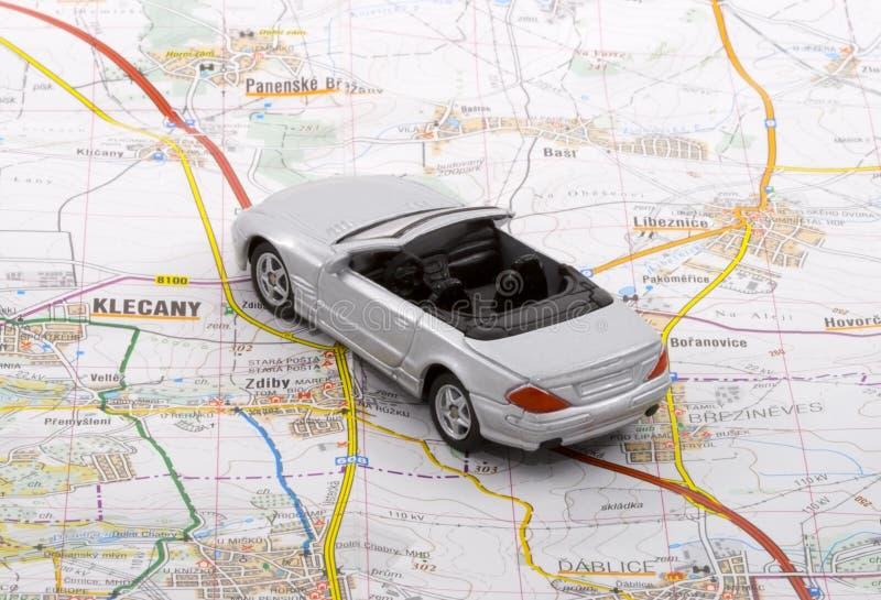 De Reis van de auto stock afbeelding