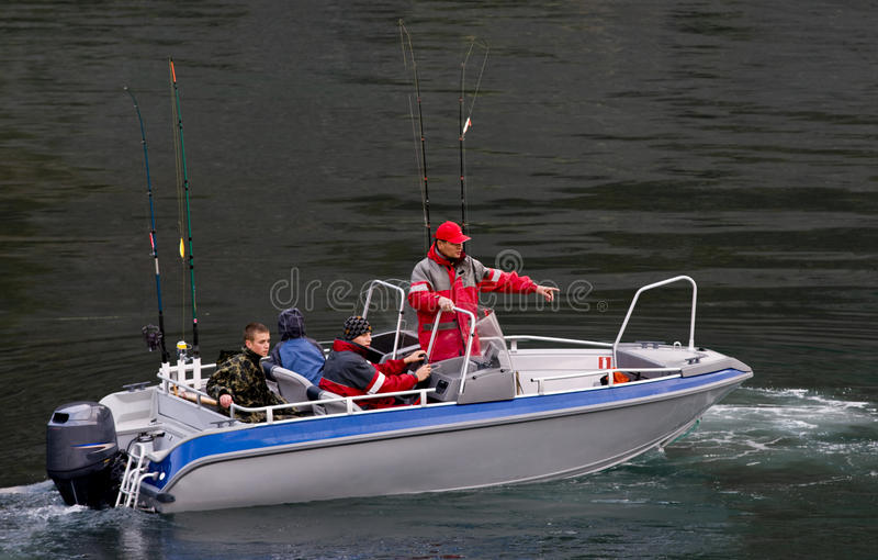 De reis van de visserij royalty-vrije stock foto's