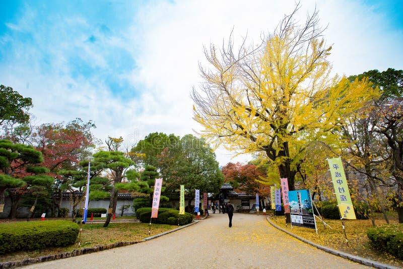 De reis van Japan en blauwe hemel royalty-vrije stock afbeelding