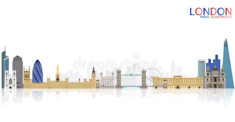 De Reis van Londen stock foto's