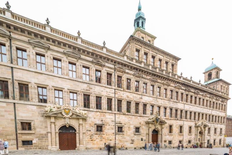 De reis van Nuremberg stock fotografie