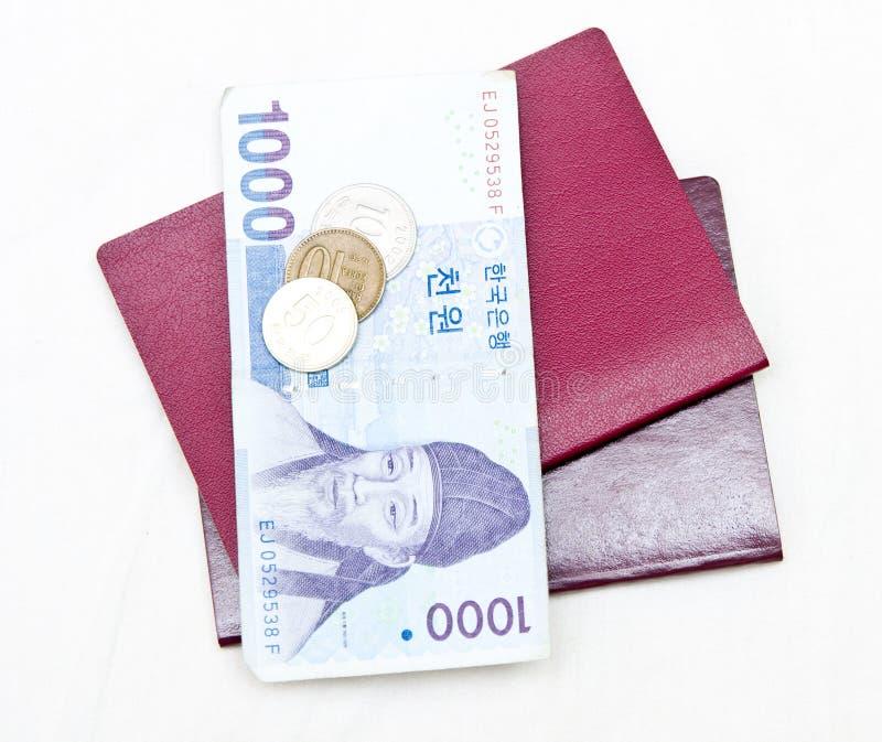 De reisconcept van Zuid-Korea royalty-vrije stock afbeelding