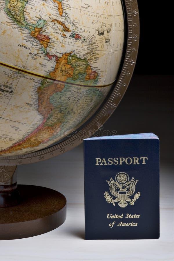 De reiziger van de wereld royalty-vrije stock fotografie