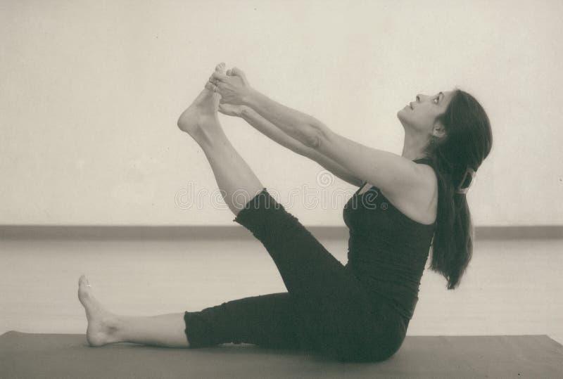 De Rek van de yoga royalty-vrije stock foto's