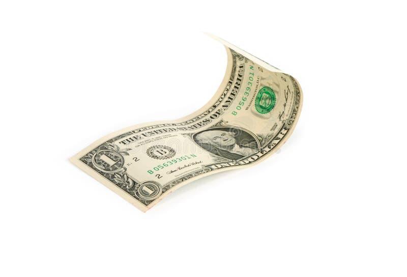 De Rekening van één Dollar royalty-vrije stock afbeeldingen