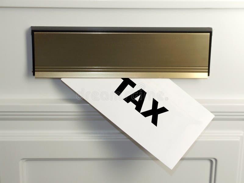 De Rekening van de belasting royalty-vrije stock afbeelding
