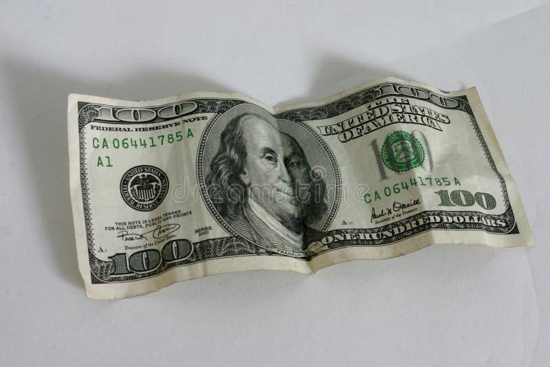 De Rekening van honderd Dollar royalty-vrije stock foto