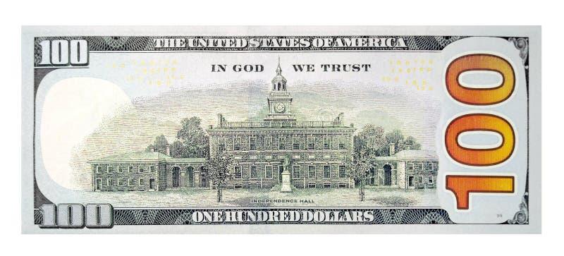De Rekening van honderd Dollar royalty-vrije stock afbeeldingen