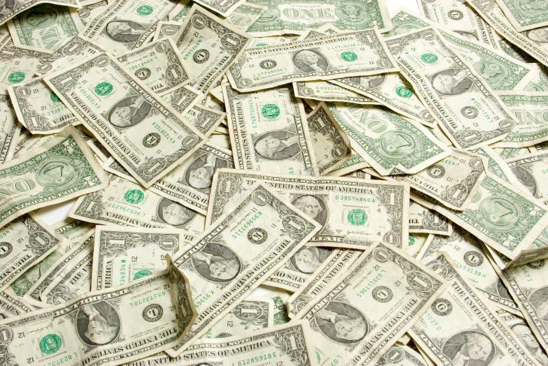 De Rekeningen van één Dollar stock foto's