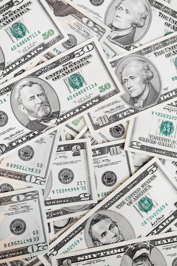 De rekeningen van de dollar