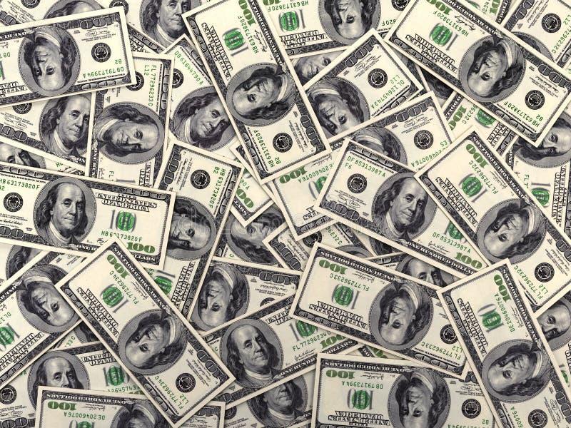 De rekeningen van de dollar vector illustratie