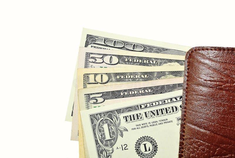 De Rekeningen van de Dollar van de V.S. royalty-vrije stock afbeelding