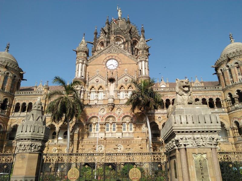 De relway post van Chatrapatishivaji royalty-vrije stock afbeelding