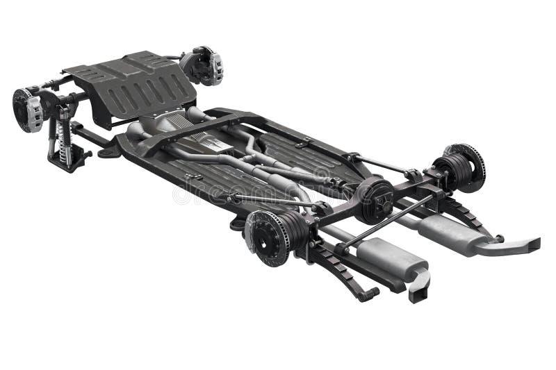 De rem van het chassiskader vector illustratie