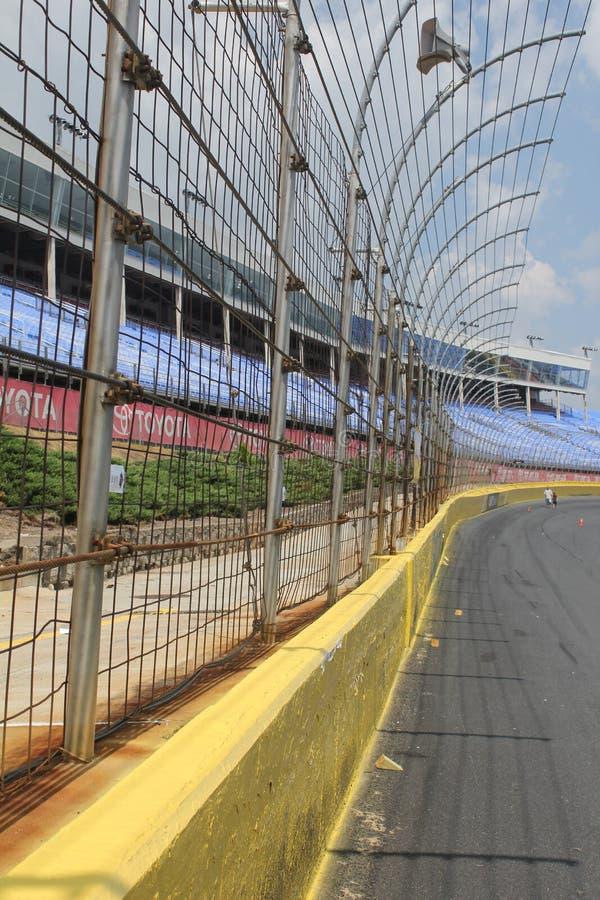 De Renbaan van de Speedwaybaan van de Motor van Lowes stock afbeeldingen