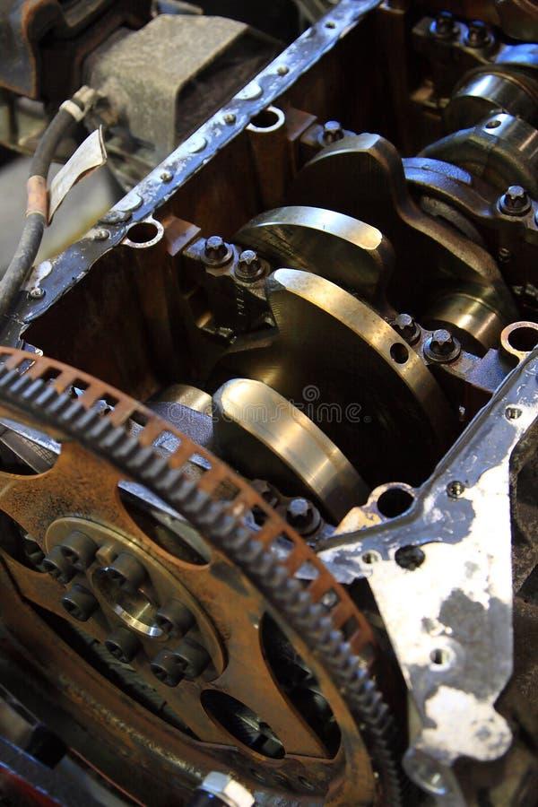 De Reparatie van de motor stock afbeeldingen