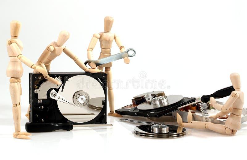 De reparatie van PC royalty-vrije stock afbeelding