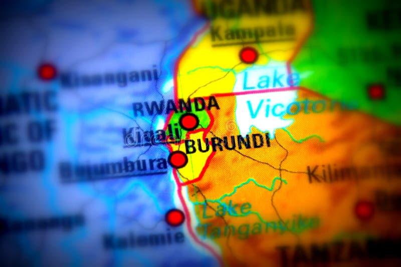De Republiek Burundi royalty-vrije stock foto