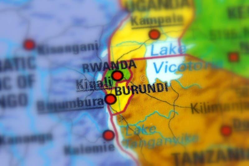 De Republiek Burundi royalty-vrije stock fotografie