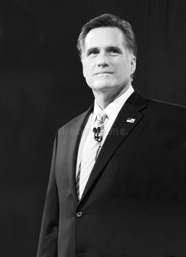 De Republikeinse de V.S. Presidentiële Kandidaat van Mitt Romney royalty-vrije stock foto's