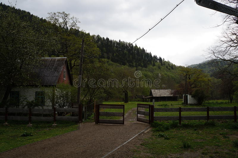 De reserve van de Kaukasus royalty-vrije stock afbeelding