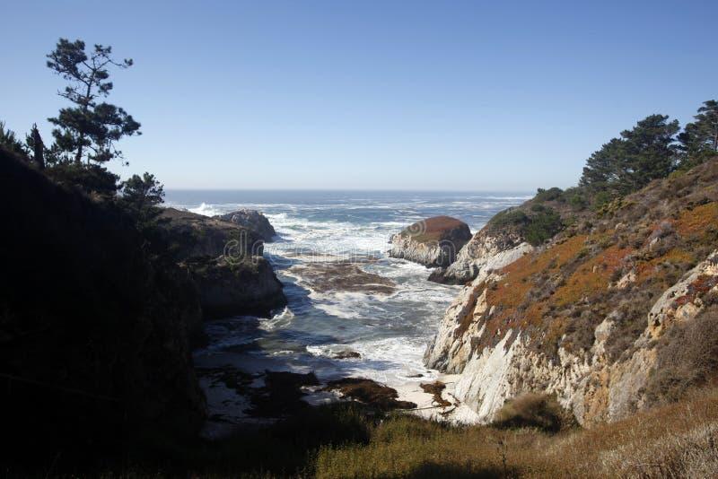 De Reserve van de Staat van Lobos van het punt, Californië stock afbeelding