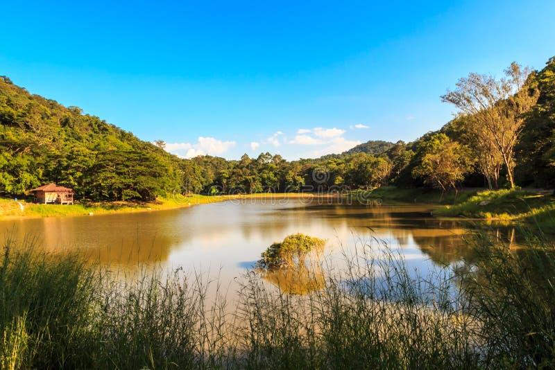 De reservoirs stock foto