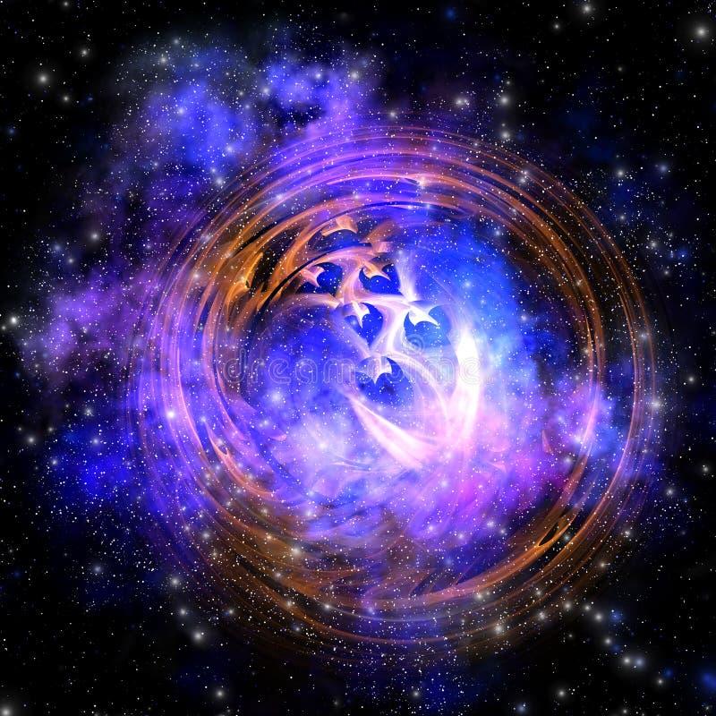 De Rest van de supernova vector illustratie