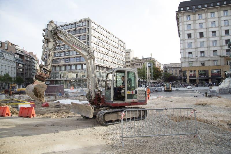 De restauratie van Belgrado royalty-vrije stock afbeeldingen
