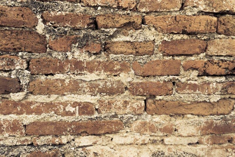 De Retro tegelstenarna royaltyfri bild