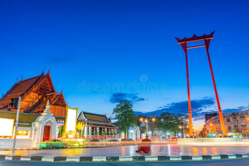 De Reuze lange blootstelling van Ching Cha van Schommelingssao in Bangkok, Thailand royalty-vrije stock foto's